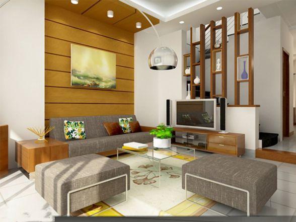 Mẫu thiết kế phòng khách chung cư đẹp nhất hiện nay--Hình 5